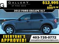 2012 Ford Escape XLT $99 Bi-Weekly APPLY NOW DRIVE NOW