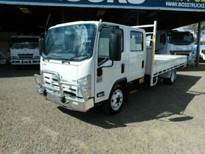 2015 Isuzu NQR 450 Crew Cab White Tray Truck 5.1l 4x2 Rocklea Brisbane South West Preview