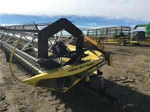 2008 HONEY BEE SP36 HEADER **36' WITH JD S SERIES ADAPTER**
