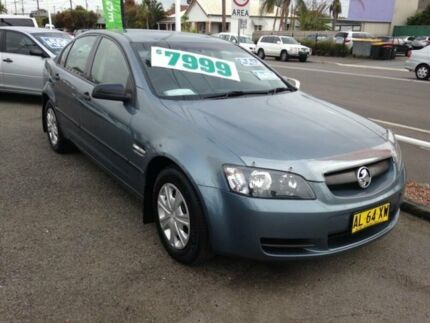 2006 Holden Commodore VE Omega Grey 4 Speed Automatic Sedan Broadmeadow Newcastle Area Preview