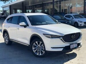 2018 Mazda CX-8 KG4W2A Asaki SKYACTIV-Drive i-ACTIV AWD White 6 Speed Sports Automatic Wagon Palmyra Melville Area Preview