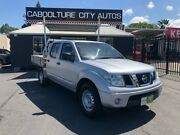 2012 Nissan Navara D40 S7 MY12 RX 4x2 Silver 5 Speed Automatic Utility Morayfield Caboolture Area Preview