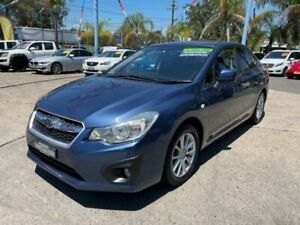 2012 Subaru Impreza G4 MY12 2.0i-L Lineartronic AWD Blue 6 Speed Constant Variable Sedan Lansvale Liverpool Area Preview