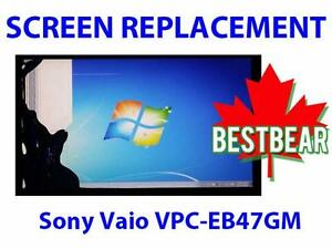 Screen Replacment for Sony Vaio VPC-EB47GM Series Laptop