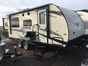 Keystone Outback 210 URS - Rear Slide & Bunks!!!!