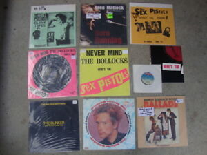 More Vinyl..Bob Dylan Collection. Ramones, R.E.M., Sex Pistols