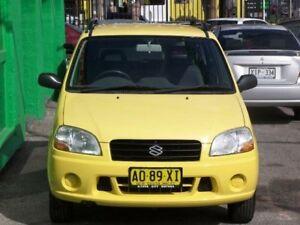 2003 Suzuki Ignis RG413 GL Yellow 5 Speed Manual Hatchback