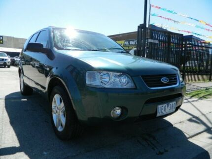 2006 Ford Territory SY TS (4x4) Green 6 Speed Auto Seq Sportshift Wagon Williamstown North Hobsons Bay Area Preview