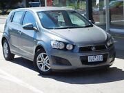 2014 Holden Barina TM MY14 CD Grey 6 Speed Automatic Hatchback Fawkner Moreland Area Preview