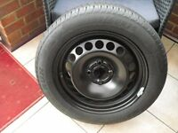 Corsa steel wheel 15""
