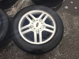 SET OF FORD FOCUS WHEELS & TYRES 15""