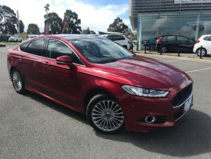 2016 Ford Mondeo Red Sports Automatic Dual Clutch Hatchback Traralgon Latrobe Valley Preview