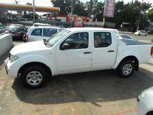 2007 Nissan Navara RX 4X4 White Automatic Dual Cab Utility Croydon Burwood Area Preview