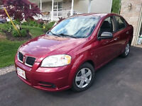 2010 Pontiac Wave Only 69,000 kms!! or trade for cargo trailer.