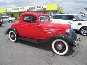 1934 Chevrolet Standard Coupe Red 3 Speed Coupe Kedron Brisbane North East Preview