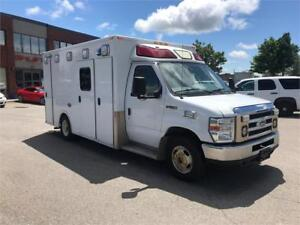 2010 FORD ECONOLINE E-350 AMBULANCE DIESEL!FULLY CERTIFIED!!