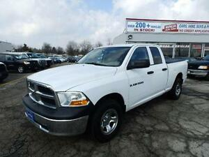 2012 Ram 1500 QUAD CAB 4X4 BLUETOOTH ONTARIO TRUCK NO ACCIDENTS