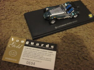 VANGUARDS GOLD LIMITED ED CATERHAM SUPER SEVEN 1/43 - NEW IN BOX