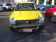 2006 Holden Rodeo RA MY06 Upgrade DX Yellow 5 Speed Manual Coorparoo Brisbane South East Preview