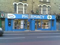 Experienced Pharmacy Sales Assistants required - N15