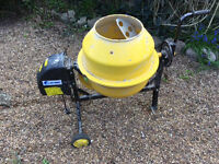 Cement mixer, Nearly new - only used for one project. Perfect working order