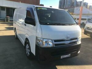 2010 Toyota HiAce TRH201R MY07 Upgrade LWB White 5 Speed Manual Van Granville Parramatta Area Preview