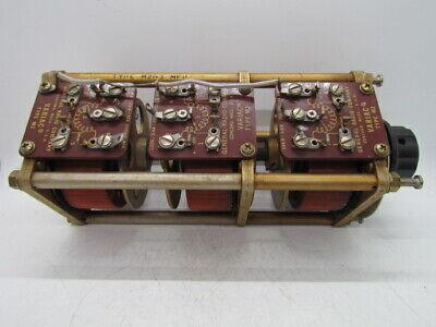 General Radio M2g3 3 Phase Aircraft Frequency Variac 120v 2.4a 400 Hz Nom