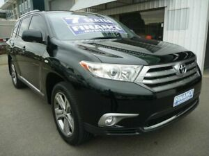 2012 Toyota Kluger GSU45R MY12 KX-S AWD Black 5 Speed Sports Automatic Wagon Edwardstown Marion Area Preview