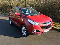 2010 Hyundai IX35 2.0 CRDI Premium Media Pack 111k miles FSH Lovely car