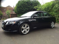 AUDI A4 SALOON 2.0 TURBO FSI S/LINE BLACK 6 SPD PETROL