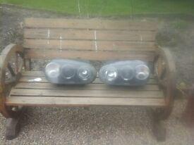 Vw golf mk4 angel eye head lights