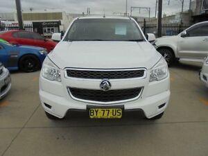 2014 Holden Colorado RG MY14 LX White Auto Sports Mode 4D Cab Chassis Granville Parramatta Area Preview