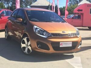 2012 Kia Rio UB MY12 SLi Brown 6 Speed Sports Automatic Hatchback South Toowoomba Toowoomba City Preview