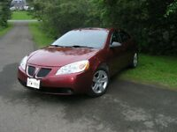 2008 Pontiac G6 Sedan tax incl