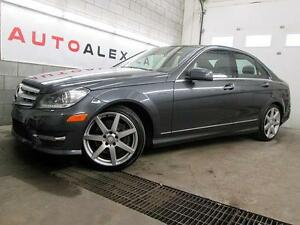 2013 Mercedes C 350 4MATIC NAVIGATION TOIT PANOR. CUIR CAMERA