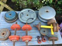 Mixture of weights