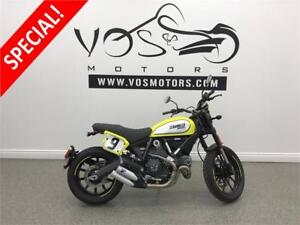 2016 Ducati Scrambler- Stock#V2850- No Payments For 1 Year**