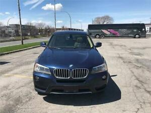 BMW X3 2011 PANAROMIC ROOF   6 CLY... X DRIVE 28I PRICE DROPPED