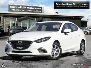2014 MAZDA 3 GX-SKY AUTO |1 OWNER | FACTORY WARRANTY | BLUETOOTH