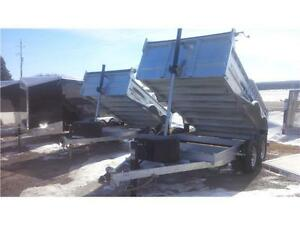 2017 GALVANIZED DUMP TRAILERS     BEST PRICES AND SERVICE