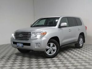 2013 Toyota Landcruiser VDJ200R MY13 VX (4x4) Silver 6 Speed Automatic Wagon Jandakot Cockburn Area Preview