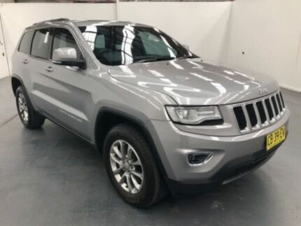 2014 Jeep Grand Cherokee WK MY15 Laredo (4x4) Silver 8 Speed Automatic Wagon