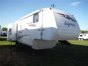2008 Pilgrim Legends 29MK3SLS-M5 Luxury 5th wheel Trailer
