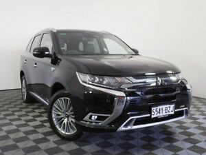 2019 Mitsubishi Outlander ZL MY19 PHEV AWD Exceed Black 1 Speed Automatic Wagon Hybrid Wayville Unley Area Preview