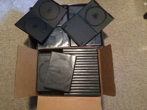 121 Blank DVD Jewel Cases