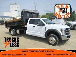 2019 Ford F-550 XLT 4x4, Dump Truck