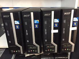 Acer Verton X275 Pentium Dual Core 3.20GHz 4GB Ram 160GB HDD Win 7 PC