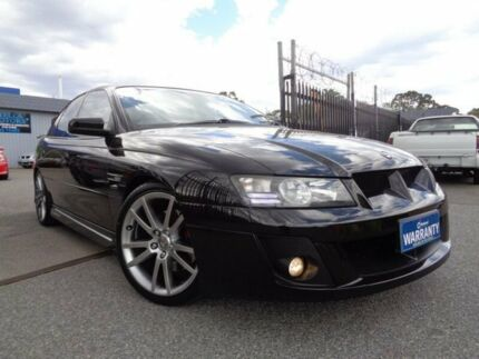 2005 Holden Special Vehicles Clubsport Z Series Black 4 Speed Automatic Sedan