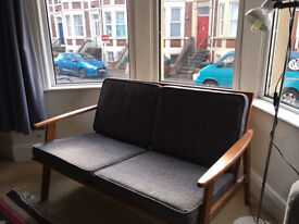 Dagmar Roller Two Seat sofa