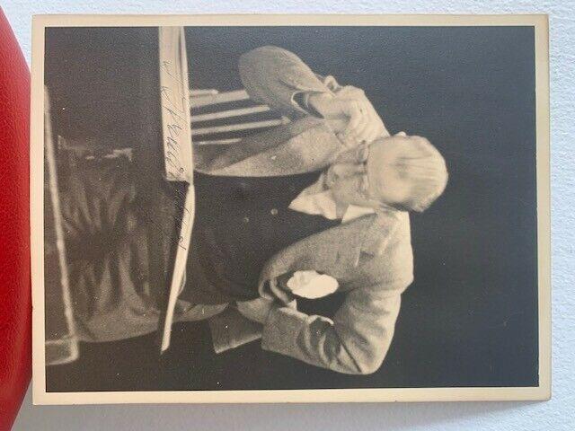 Igor Stravinsky Signed Photo